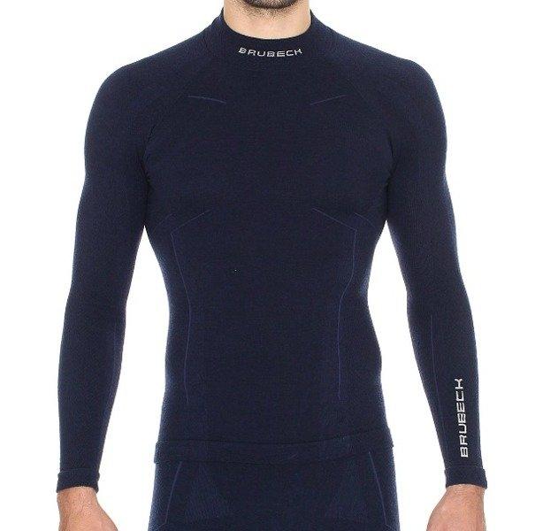 14eb88e6c Bluza męska Brubeck Extreme Wool LS11920 - Dla niego Bielizna ...